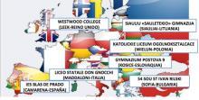 Países participantes en el Proyecto Euconnectour