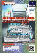 Cartel FP Básica Informática