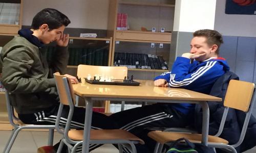 Imagen del torneo del ajedrez